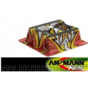 203000100 ANSMAN RACING SUPPORTO AUTOMODELLO ON ROAD IN LEXAN